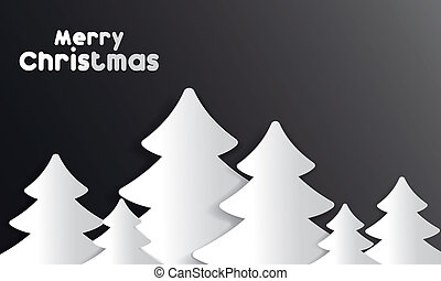Merry Christmas Card vector illustration
