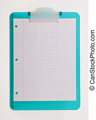 Colorfull Plastic Clipboard - plastic clipboard with plank...