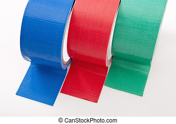 Colorfull Duct Tape - rolls of colored duct tape for...