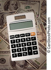 Calculating Budget - Pocket size calculator for big money...