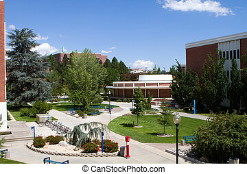 University Of Nevada Campus - View of the University of...