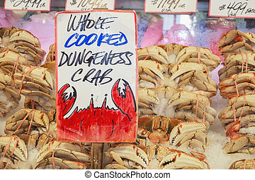 Dungeness Crab in Market - Dungeness Crab for sale in...