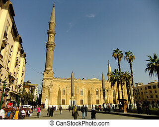 Al-Hussein Mosque, Islamic district, Cairo, Egypt