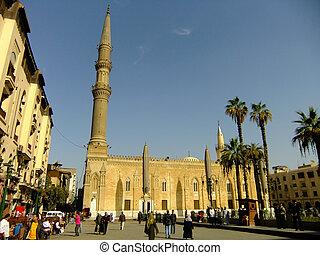 Al-Hussein Mosque, Islamic district, Cairo, Egypt