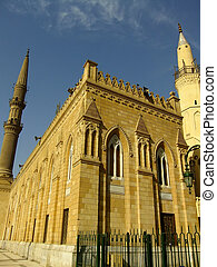 Mosque in Islamic district of Cairo, Egypt