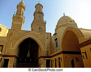 Madrasah Mausoleum and Mosque, Qalawun Complex, Cairo, Egypt
