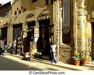 Al-Muizz street, Islamic distric, Cairo, Egypt