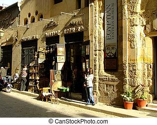 Al-Muizz street, Islamic distric, Cairo, Egypt