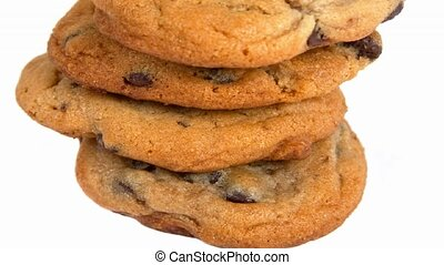 Chocolate chip cookies - Stack of chocolate chip cookies