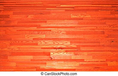 Textured Wooden Wall Background - Warm wood tones...