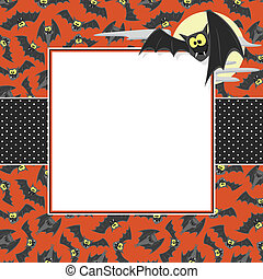 halloween card background