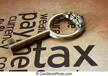 Golden key on tax