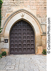 Dentice di Frasso Castle. San Vito dei Normanni. Puglia....