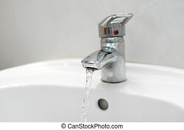 Tap - Water flowing from a tap