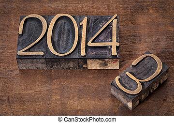 nowy, rok, 2014