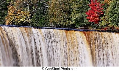 Tahquamenon Falls in Autumn Loop - Tahquamenon falls, a...