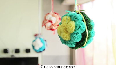 Holiday home decor - Decoration of children's birthday party...