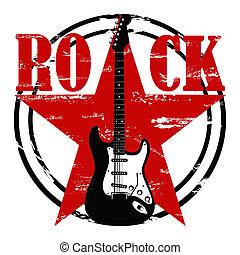 grunge, roccia