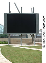 Large outdoor display screen