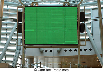Large indoor display screen