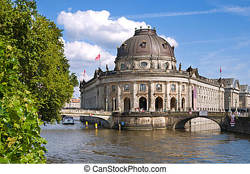 Berlin Bode-Museum - Bode-Museum and Museumsinsel in Berlin...