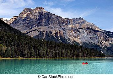 Emerald lake - Boat rental in Emerald Lake, Canadian Rockies