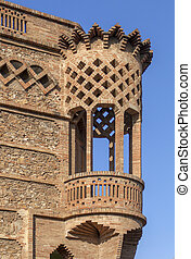 Colonia Guell Modernism - Barcelona,Colonia Guell, architect...