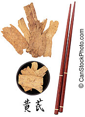 Astragalus Root - Astragalus root used in traditional...