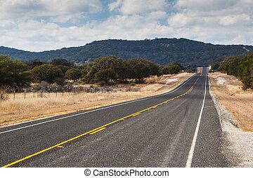 Highway in Texas