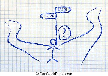 true or false - funny conceptual design, true or false