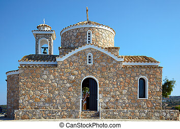 Church of Profitis Elias. Akefalou St. near, Protaras (area...