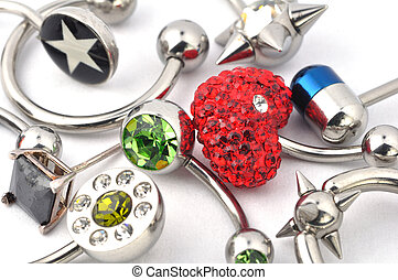piercing - Many jewelry for piercing
