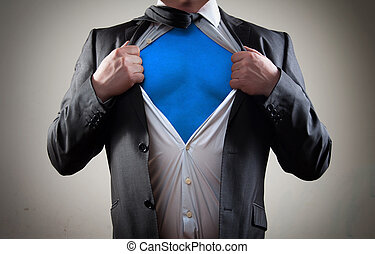 super hero  - Businessman super hero