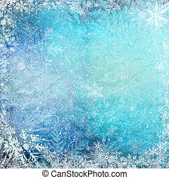 Blue Christmas background - Blue Christmas grunge texture...
