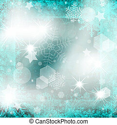 Blue Christmas background - Christmas background from...