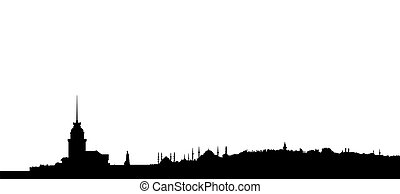 istanbul silhouette