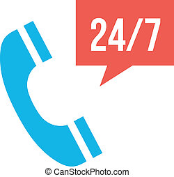 Vector Call Service Icon