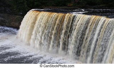 Michigan Waterfall Loop - Loop features Upper Tahquamenon...