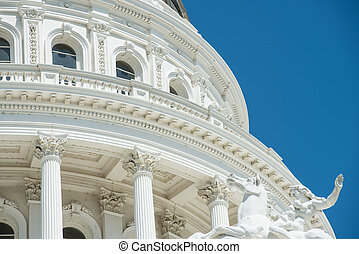 Sacramento Capitol Building in California