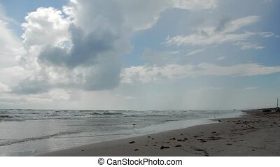 Padre Island beach, Texas - Beautiful beach on Padre Island...
