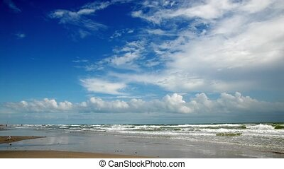 Padre Island beach, Texas - Beautiful beach on Padre Island....