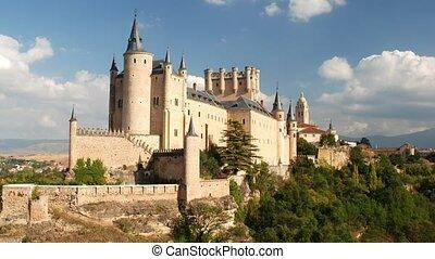 Segovia Castle, Spain - Segovia Castle Alcazar of Segovia...
