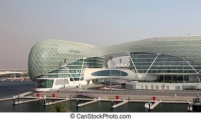 Yas Marina Hotel in Abu Dhabi, United Arab Emirates