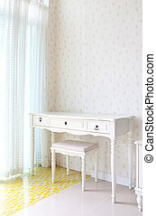 empty white room for decoration