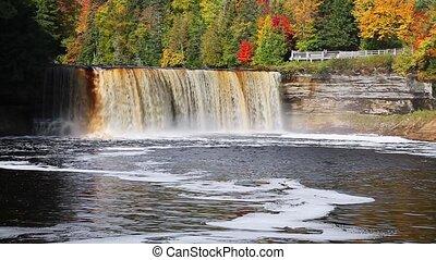 Upper Tahquamenon Falls Loop - Tahquamenon falls, a...