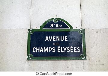 Avenue des Champs Elysees - Avenue des champs elysees,...