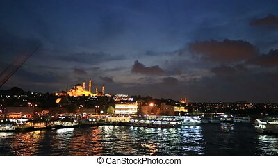 golden horn - Golden Horn at Istanbul Turkey