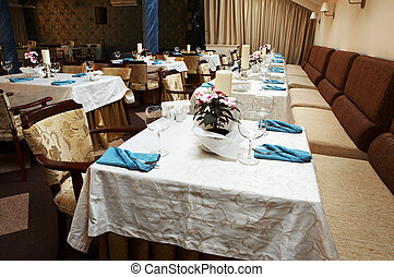 Beautiful and luxurious restaurant