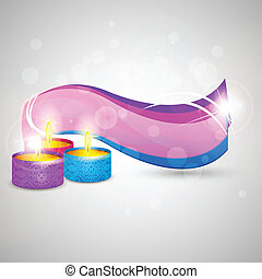 Happy Diwali - easy to edit vector illustration of Happy...