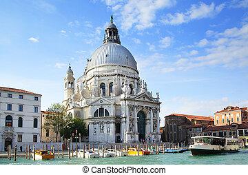 Santa Maria della Salute in Venice, Italy
